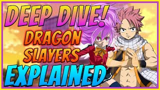 Dragon Slayers Explained   The History Of Dragon Slayers   Fairy Tail Deep Dive   Anime Lore