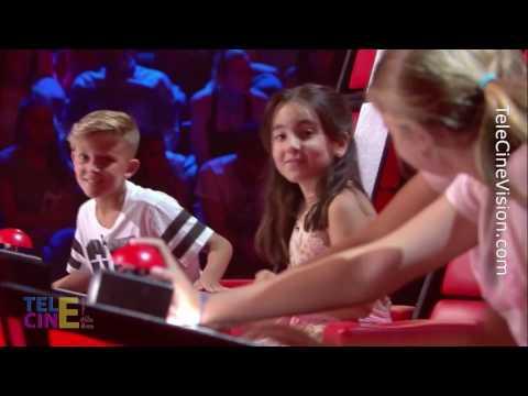 La Voz Kids 3: Los Coaches Y Jóvenes Aspirantes Invierten Sus Papeles | TeleCineVision