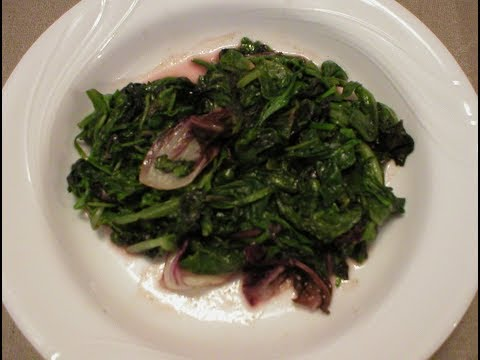 Fast Sauteed Spring Mix