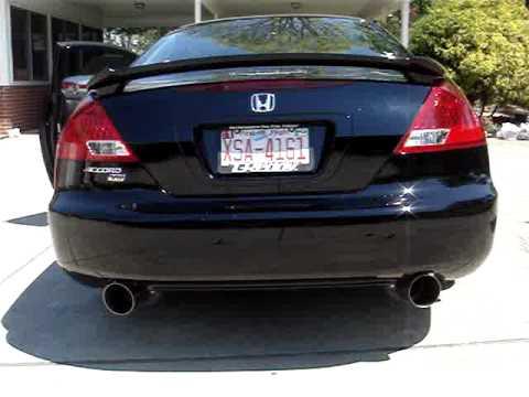 2006 honda accord coupe v6 exhaust