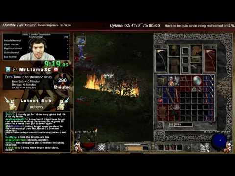 Diablo 2 - Median XL Speedrun #2 (Necro) - 1:42:41