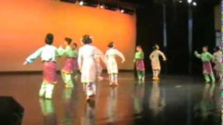 inang,zapin and joget dance (malaysia traditional dance)