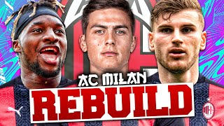 REBUILDING AC MILAN!!! FIFA 21 Career Mode