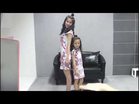 MOTHER AND DAUGHTER DRESS UP CHEONGSAM KFCNY0135