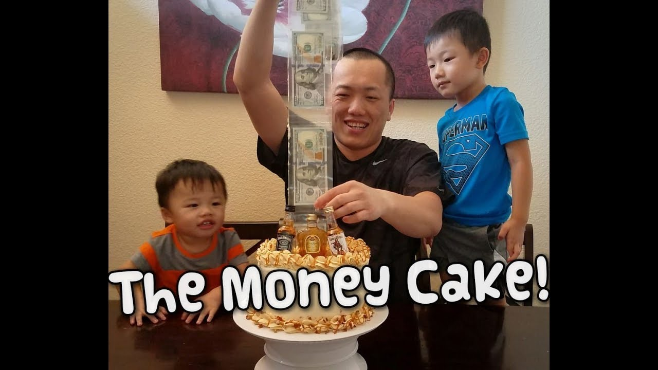 How To Make The Money Cake