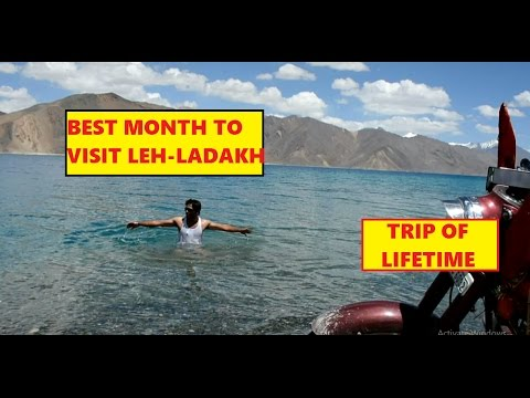 Best month to visit Leh Ladakh - In Hindi
