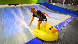 Surfing a Duck