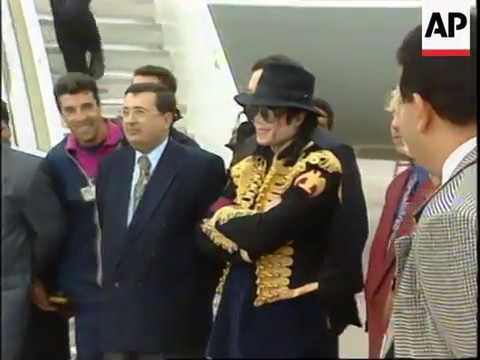 Michael Jackson 1996 Tunisia Reports