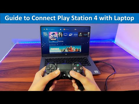 How to connect PS4 with Laptop screen | PlayStation 4 Remote play Guide for Laptop in Hindi