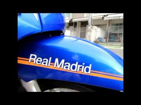 243rd Yamaha Fino Fi Realmadrid