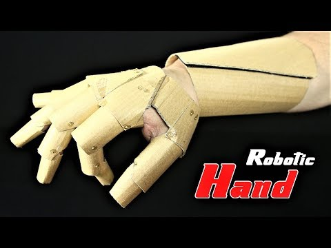 How To Make A Robotic Hand Glove With Cardboard