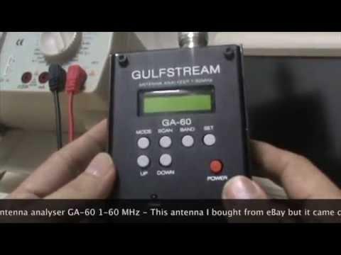 GA-60 Antenna Analyzer 1-60MHz