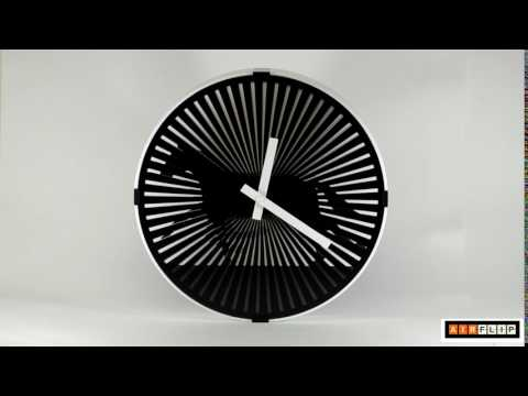 Анимационные часы Air-flip Gif