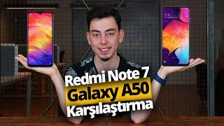 Xiaomi Redmi Note 7 vs Samsung Galaxy A50!  Uygun fiyatlı canavar kim?