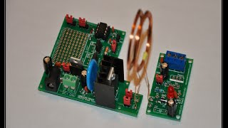 The Wireless Power Transfer DIY Electronics Kit   Assembly Video