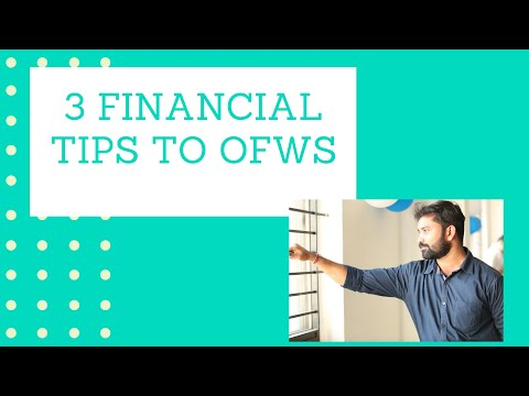 3 Financial Tips to OFWs