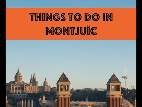 Places to visit in Montjuïc