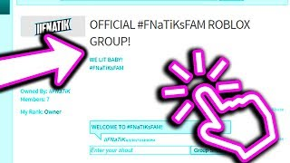 JOIN MY OFFICIAL GROUP ON ROBLOX! (FREE ROBUX)
