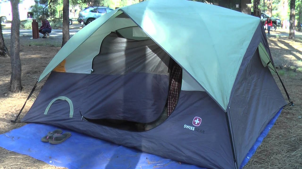 & Swiss Gear Grindelwald I Tent - Long Term Gear Review - YouTube