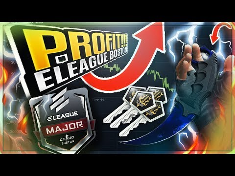 CSGO ★ How To Easily Make Quick Profits From Eleague Boston Major ★ Easy Money