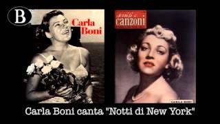 """Pippo Barzizza e Carla Boni in  """"Notti di New York"""" di G. Gershwin. Orchestra Cetra, 1949."""