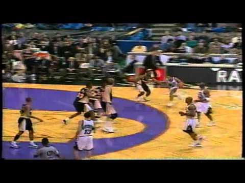 RARE highlight - Damon Stoudamire makes Best and Mark Jackson fall!!!