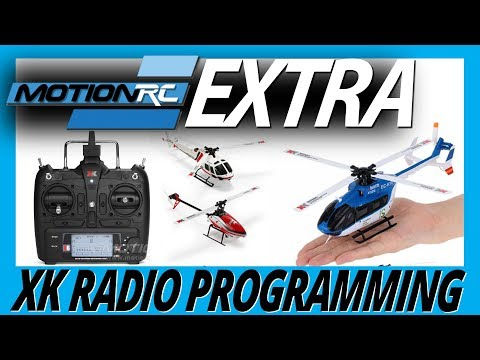 XK Radio Binding & Programming Guide - Motion RC Extra