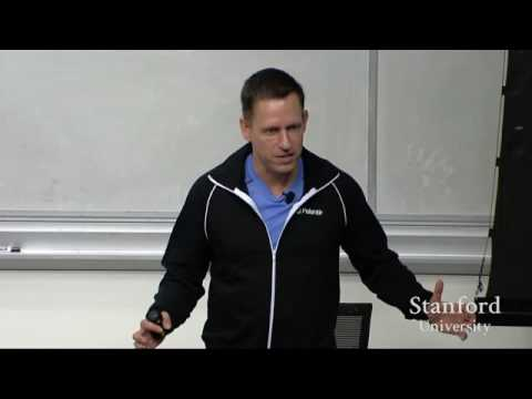 Lecture 5  - Competition is for Losers Peter Thiel [How to Start a Startup Series]