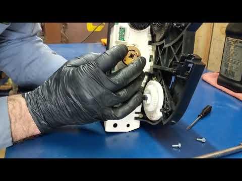 Saturn Ion HVAC switch repair