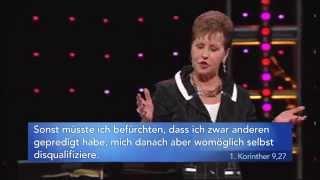 Wie man die Pläne des Teufels durchkreuzt (2) – Joyce Meyer – Das Leben genießen