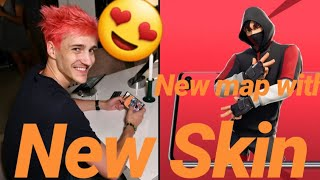 Ninja and other Streamers React to Fortnite Galaxy *IKONIK* K-pop Skin Epic