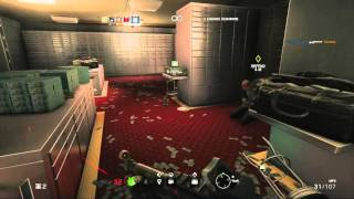 Rainbow Six Siege PS4 Bank Hostage Situation Gameplay