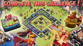 How to Complete HOG MOUNTAIN CHALLENGE? HOW TO 3 STAR HOG MOUNTAIN CHALLENGE Clash Of Clans Lunar