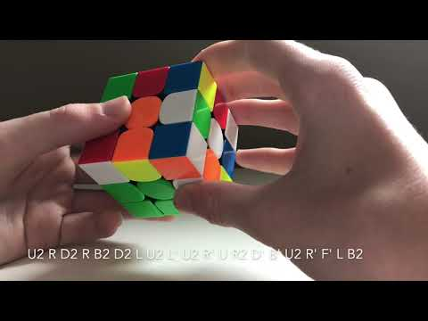 How I solved a Rubik's cube in 8.57 seconds