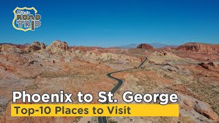 Phoenix to St. George Utah Road Trip Travel Vlog