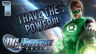 DC Universe Online - Part 1 - BEWARE MY POWER!!! (PS4 Gameplay/Commentary/Facecam)