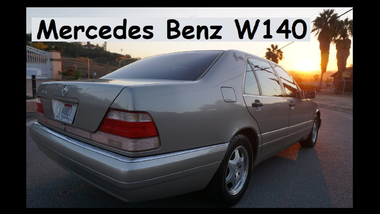 mercedes benz w140 s420 classic last year 1 owner 60k mi [ 1280 x 720 Pixel ]