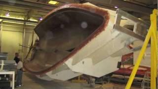 Hunter Marine Factory Tour By: Ian Van Tuyl at IVTyachtsales.com