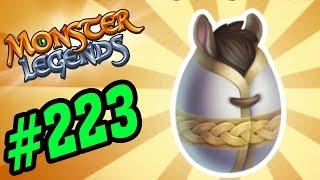 ✔️LEGEN ĐI MÊ CUNG NHẶT TRỨNG THỎ - Monster Legends Game Mobiles - Quái Vật Android, Ios #223