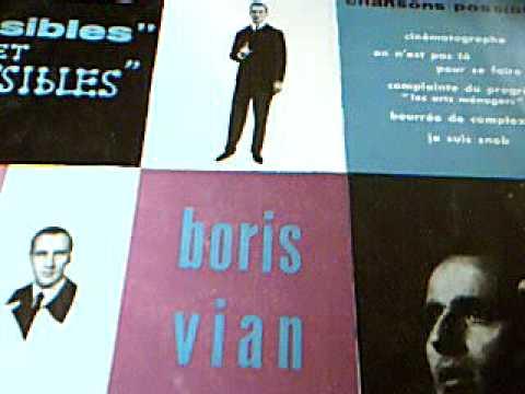"""Boris Vian """" La complainte du progrès """""""