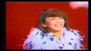 "Japanese musical star Jun Anna is singing ""Night and Day"" in 1978 ..."