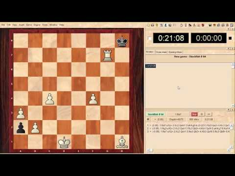 Stockfish 8 Suffocates! No Way To Solve This Chess Puzzle!