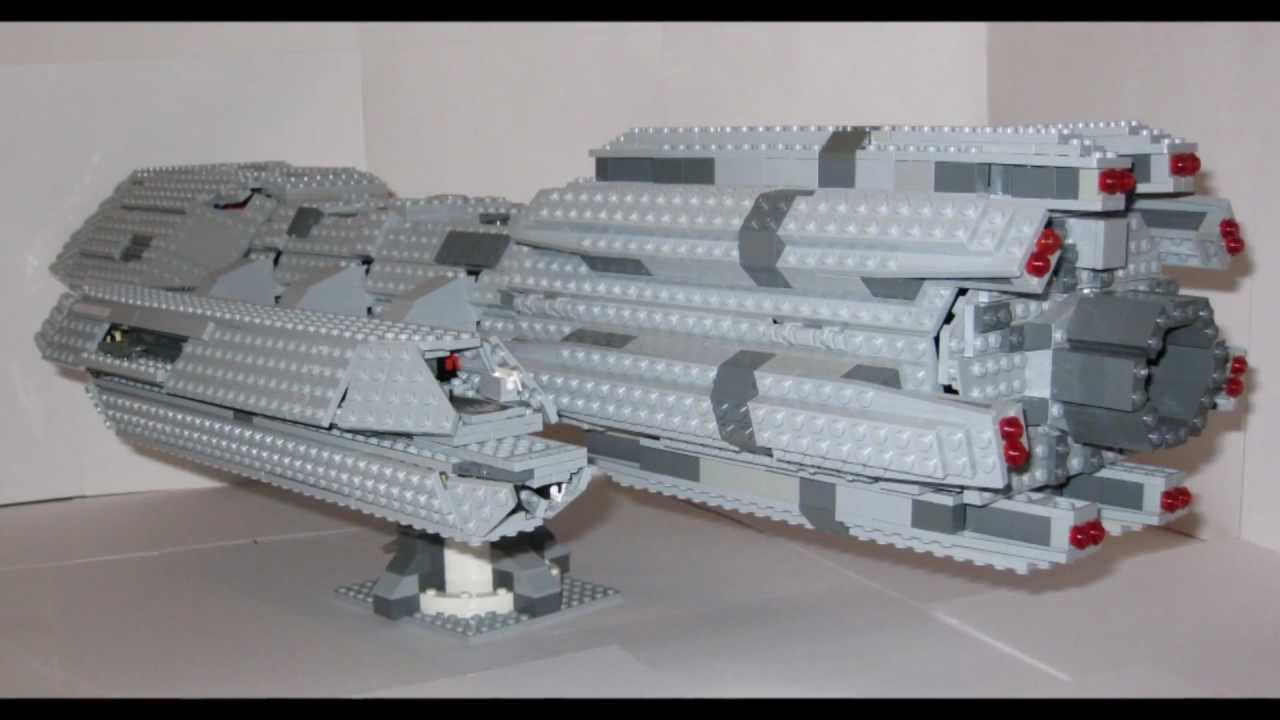 The Completed Lego Battlestar Pegasus Youtube