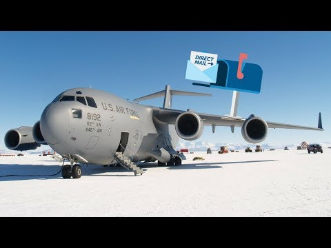Sending Mail Off the Antarctica Continent