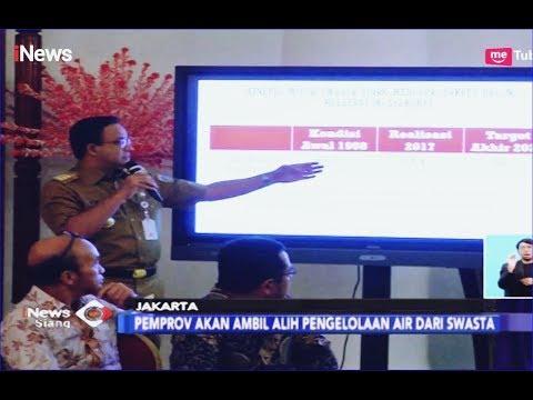 Anies Tegaskan Pemprov DKI Akan Ambil Alih Pengelolaan Air dari Swasta - iNews Siang 12/02 Mp3