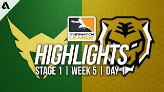 Los Angeles Valiant vs Seoul Dynasty ft Fleta Soon | Overwatch League Highlights OWL Week 5 Day 1