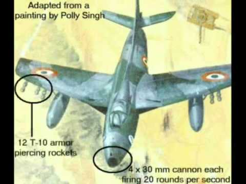 Battle of Longewala - tank attack crushed by IAF