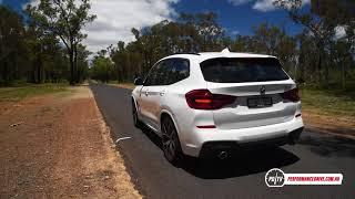 2018 BMW X3 xDrive30d 0-100km/h & engine sound