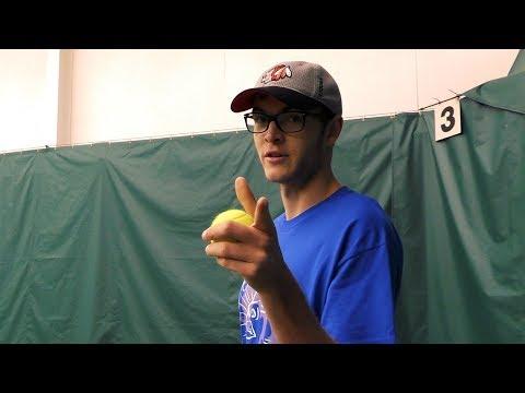 DePaul University Club Tennis - The First Fall Quarter 2017 Practice Vlog