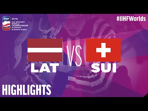 Latvia Vs. Switzerland | Highlights | 2019 IIHF Ice Hockey World Championship